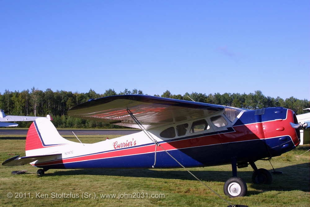 cessna 190 195 and air force lc 126 airplane photos information welcome to john all. Black Bedroom Furniture Sets. Home Design Ideas