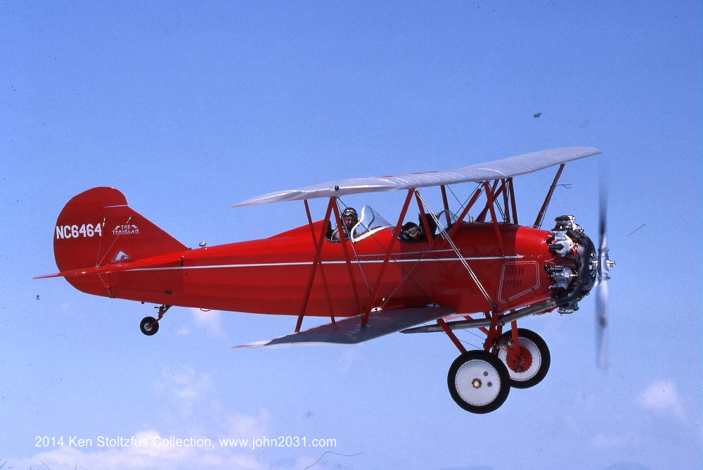 Travel Air biplane aircraft photos, brochure. Welcome to ...